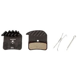 Shimano, Y8VT98020, H03C, BR-M820, Disc brake pads, With fins, Metal, Pair, H type