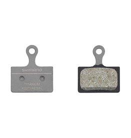 Shimano, K03Ti, Disc Brake Pads, Shape: Shimano K-Type/L-Type, Resin, Pair