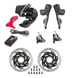SRAM, Red eTap AXS HRD, Build Kit, 1x, Hydraulic Disc, Flat Mount 2 piece, Kit