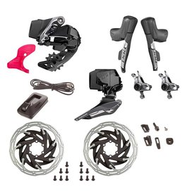 SRAM SRAM, Red eTap AXS HRD, Build Kit, 2x, Hydraulic Disc, Post Mount, Kit