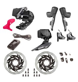 SRAM SRAM, Red eTap AXS HRD, Build Kit, 2x, Hydraulic Disc, Flat Mount, Kit