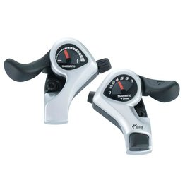 Shimano Tourney SL-TX50, Shift levers, 7 sp., Pair