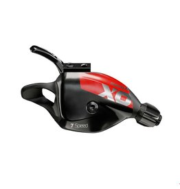 SRAM X01 DH, Trigger Shifter, Speed: 7, Combination: MatchMaker X, Red