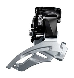 Shimano Altus FD-M2000, Front derailleur, 9sp., Down Swing, Dual Pull, High 28.6/31.8/34.9mm