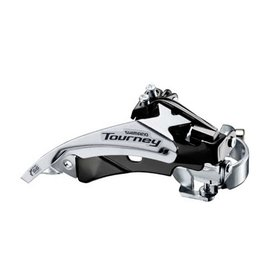 Shimano Tourney FD-TY510, Front derailleur, 6/7sp., Top Swing, dual Pull, Low, 34.9/31.8/28.6mm