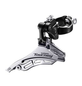 Shimano Tourney FD-TY300, Front derailleur, 6/7., Down Swing, Top Pull, 31.8mm