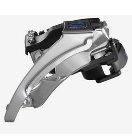 Shimano Altus FD-M310, Front derailleur, 3x7/8sp., Top swing, Dual pull, Multi clamp, For 42/48T