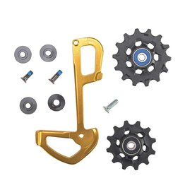 SRAM SRAM, XX1 Eagle Pulley and Inner Cage, Gold