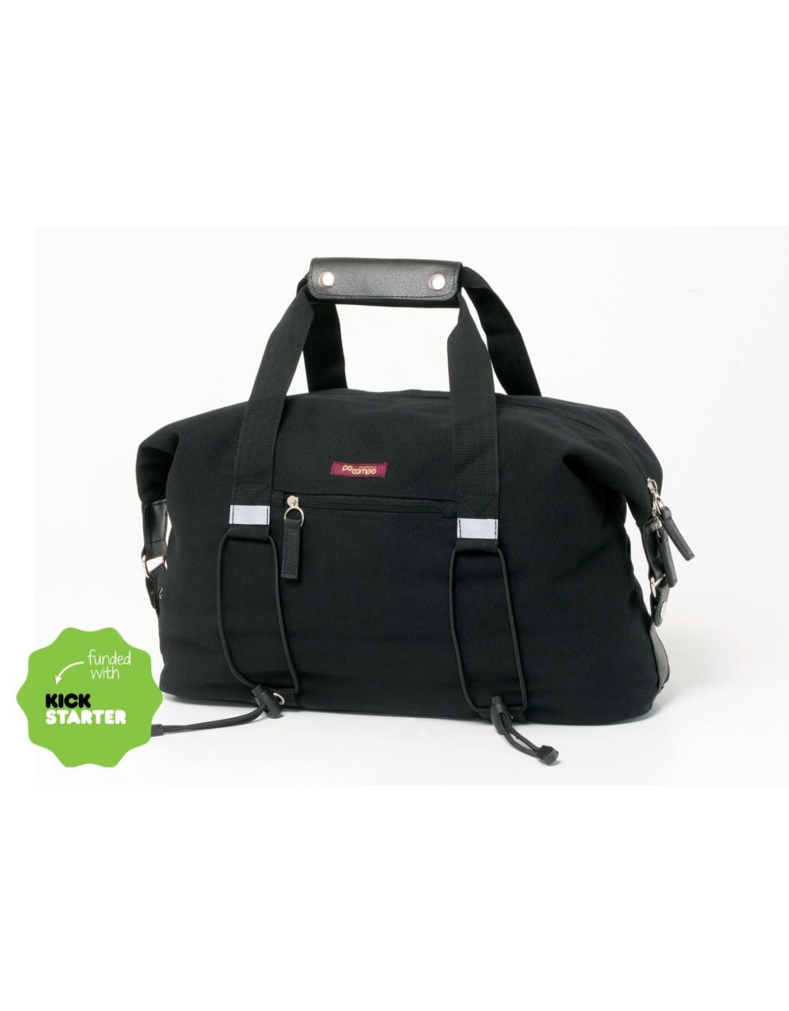 PoCampo BIKE SHARE BAG BLACK WAX CANVAS