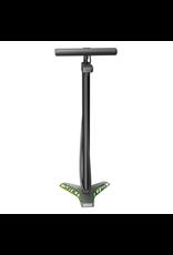 FLOOR PUMP VERNON 2.0 DIGITAL - MATT BLACK/GREEN