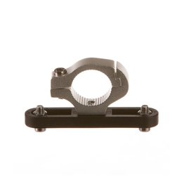 EVO Bottle Cage Handlebar Adapter, Silver, 22.2mm