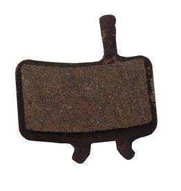 Juicy & BB7, Disc brake pads, Organic (Quiet), Steel back plate, pair