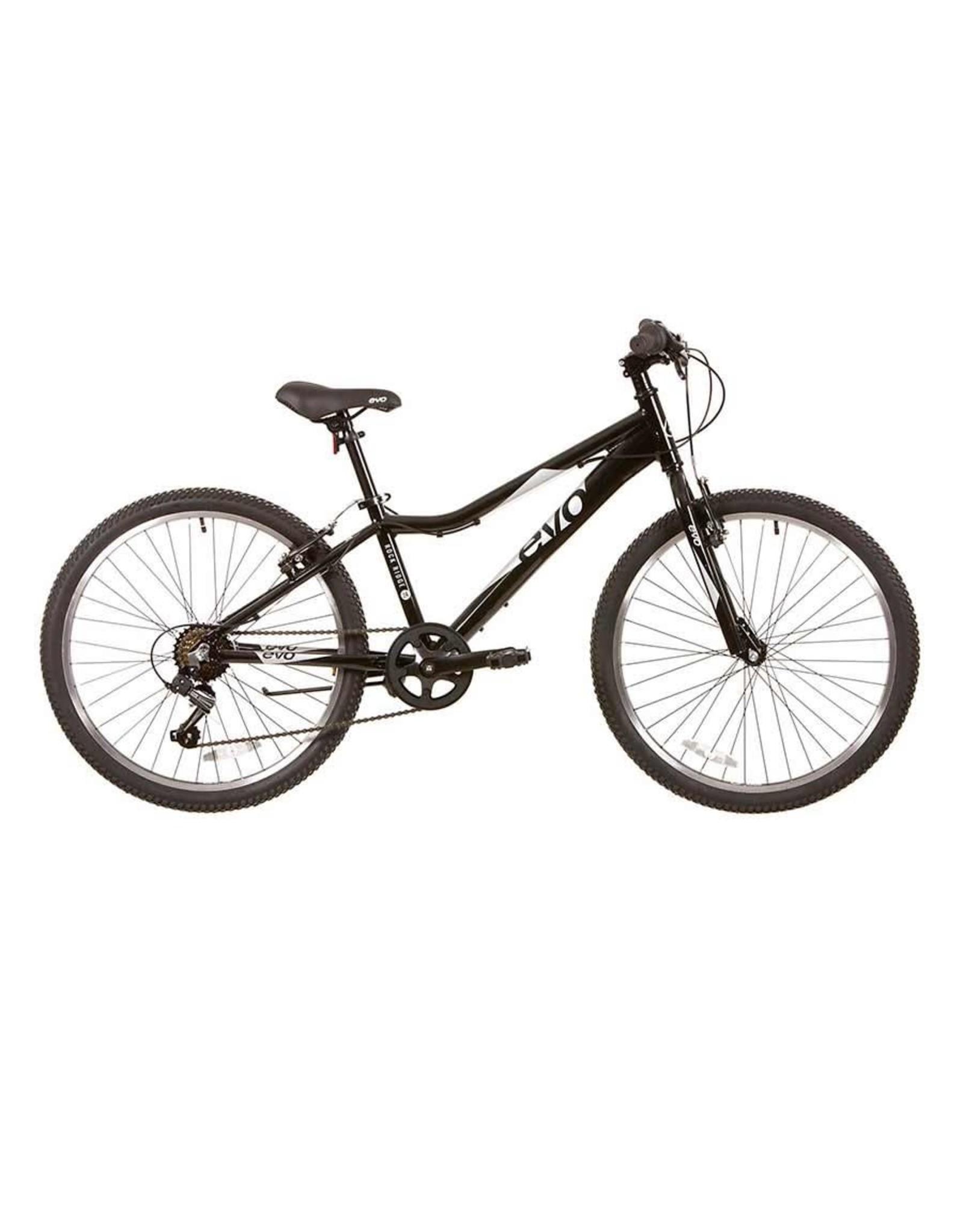 EVO, Rock Ridge 24, Kids Bicycle, 24'', Monster Black/Silver, U