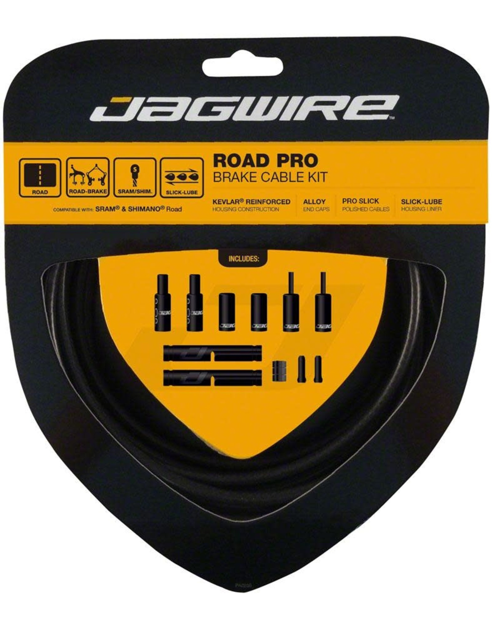JAG ROAD PRO BRAKE KIT STH.BLK
