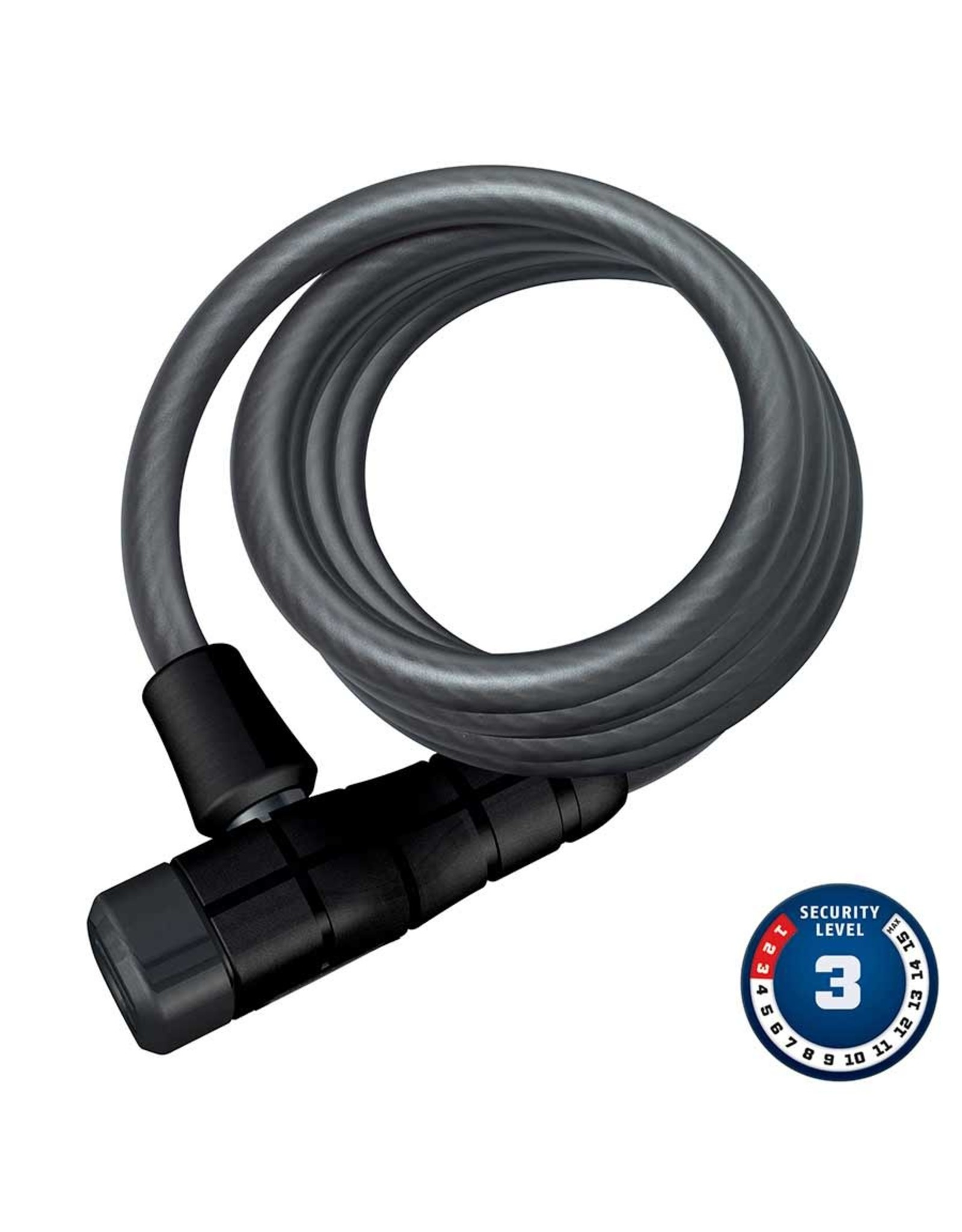 Primo 5510K, Cable with key lock, 10mm x 180cm (12mm x 5.9')