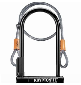 Kryptonite KEEPER 12 STD W/4' FLEX CABLE