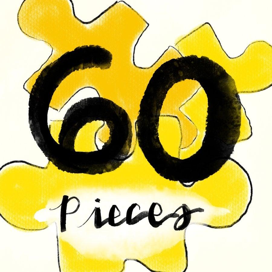 60pc Jigsaw Puzzles