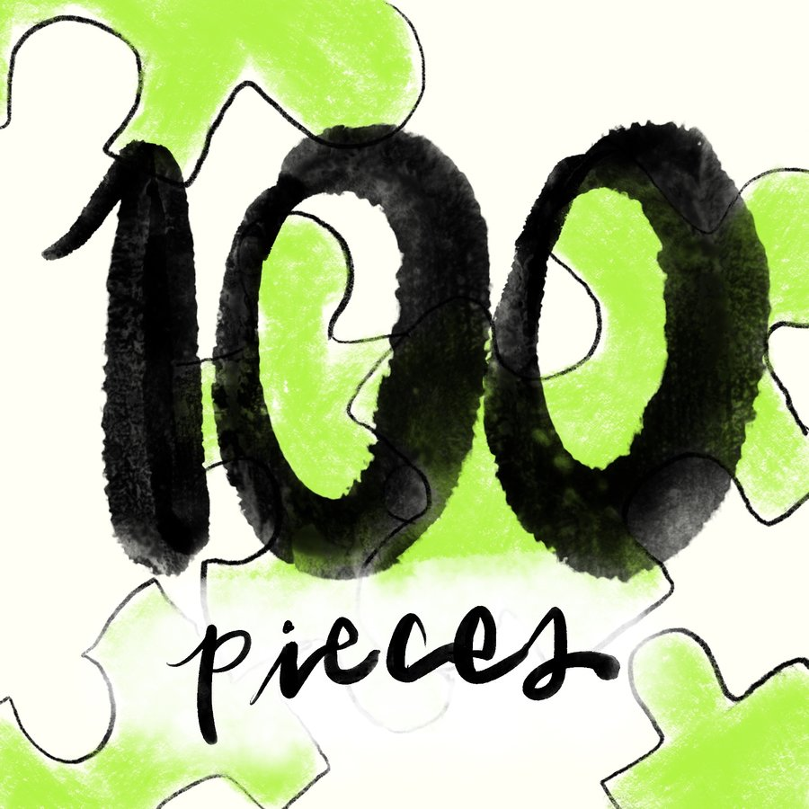 100pc Jigsaw Puzzles