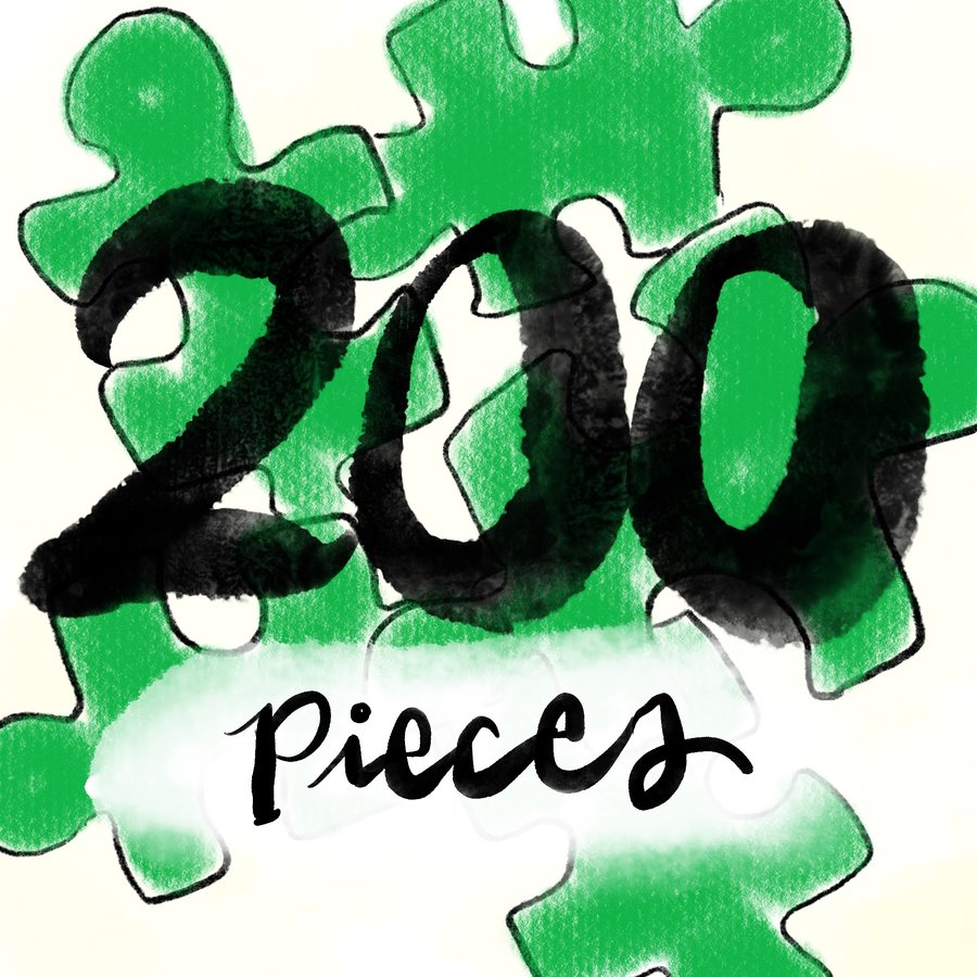200pc Jigsaw Puzzles