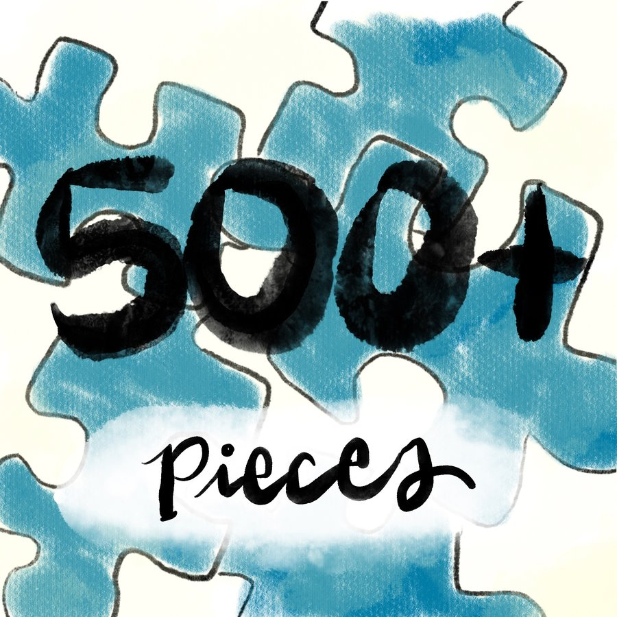 500-750pc Jigsaw Puzzles