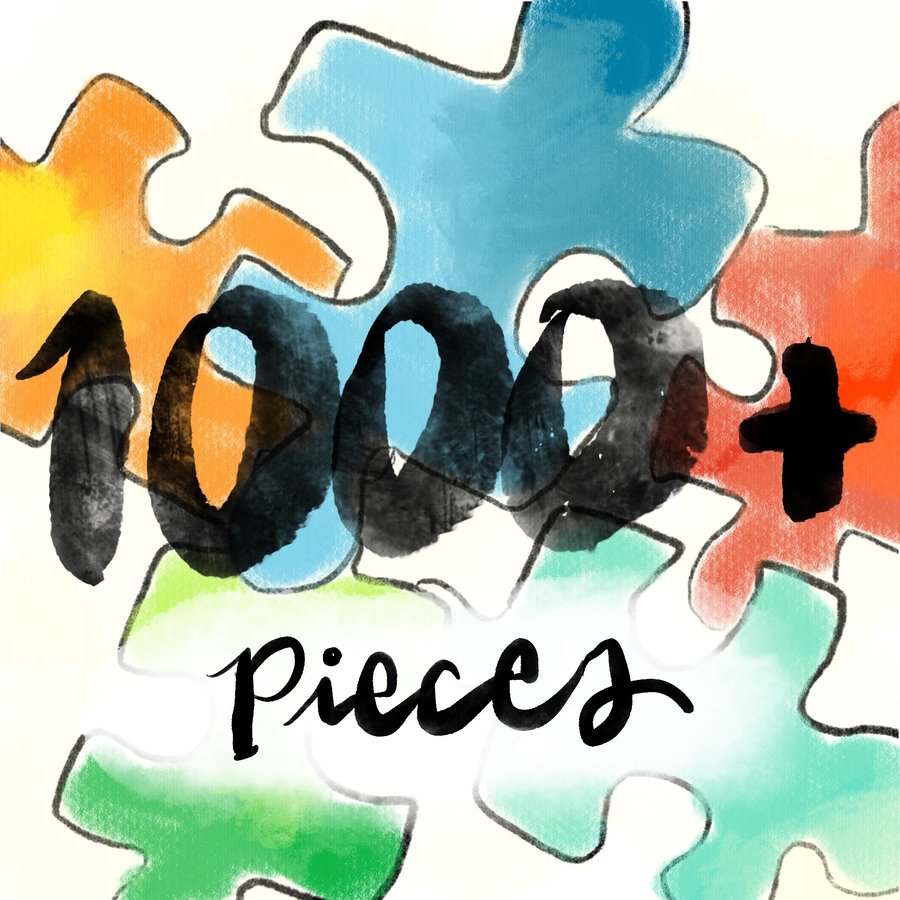 1000pc Jigsaw Puzzles (and even bigger!)