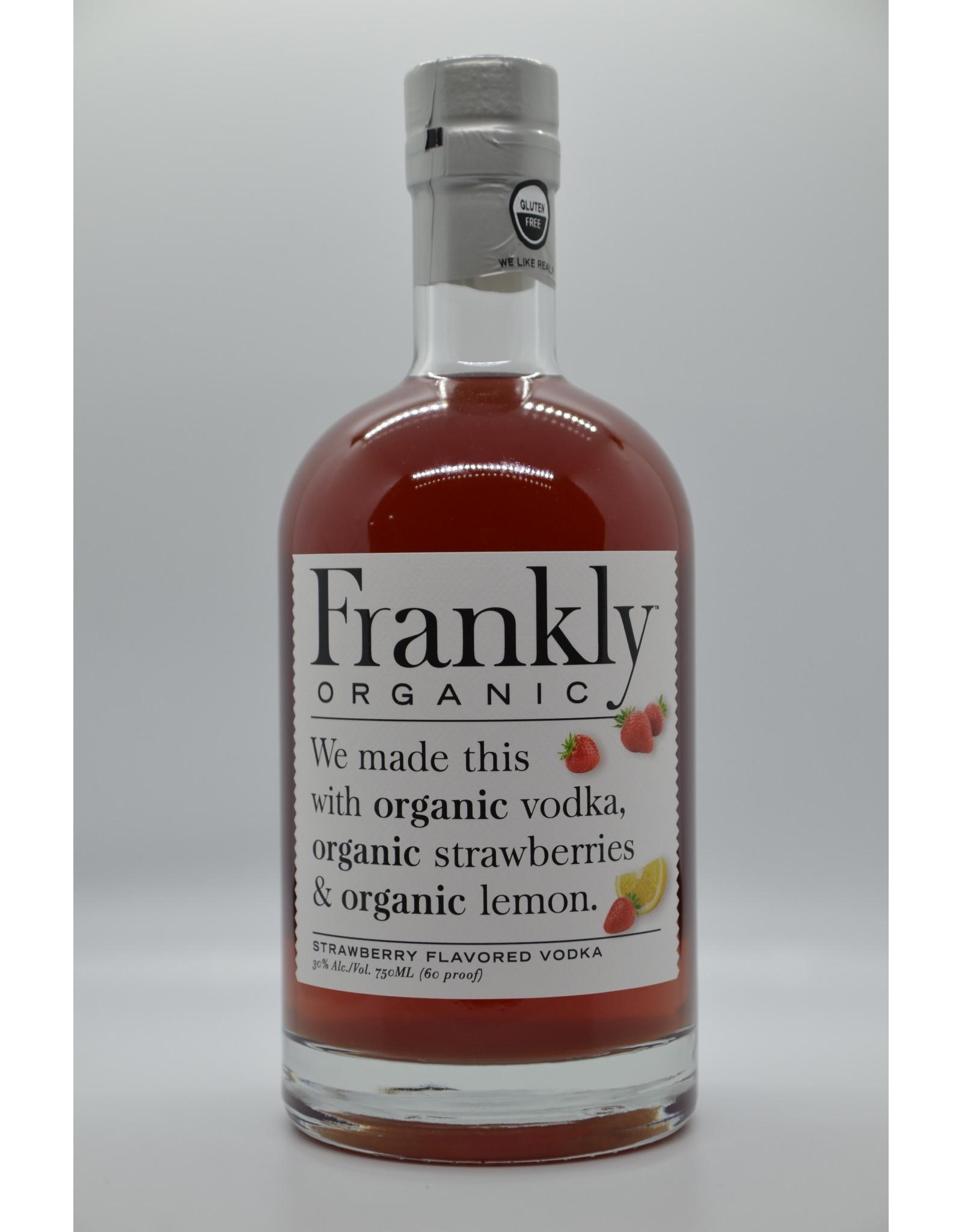 USA Frankly Organic Strawberry Vodka
