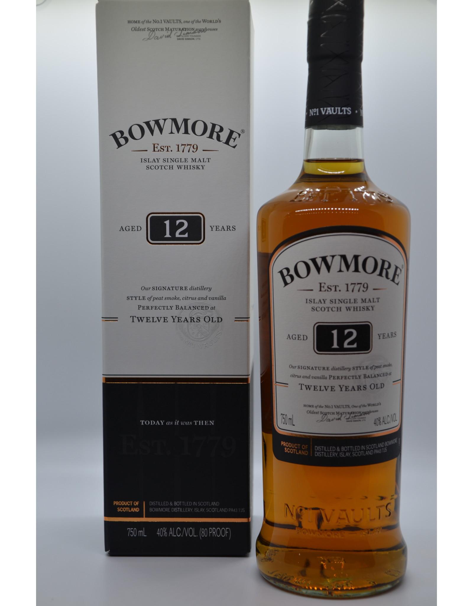 Scotland Bowmore 12 Yr Single Malt Scotch