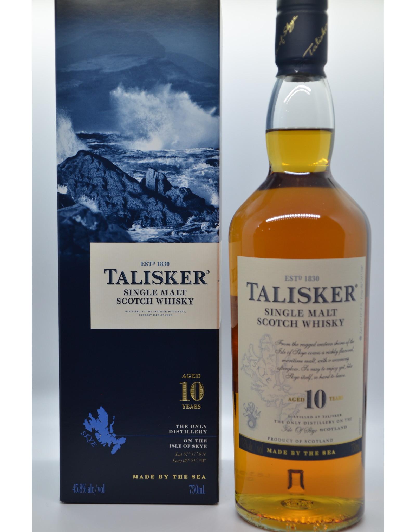 Scotland Talisker 10