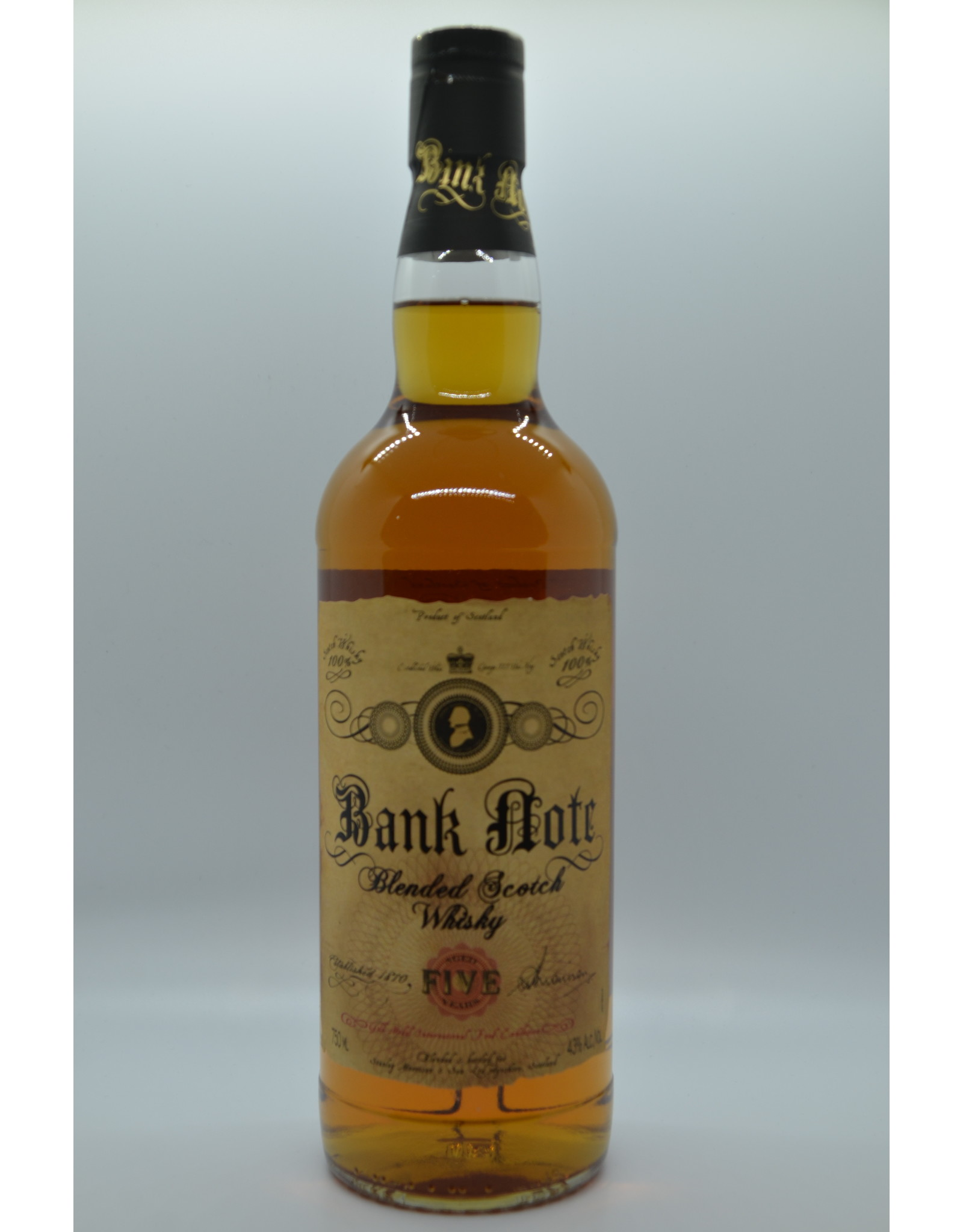 Scotland Bank Note Blended Scotch Whisky