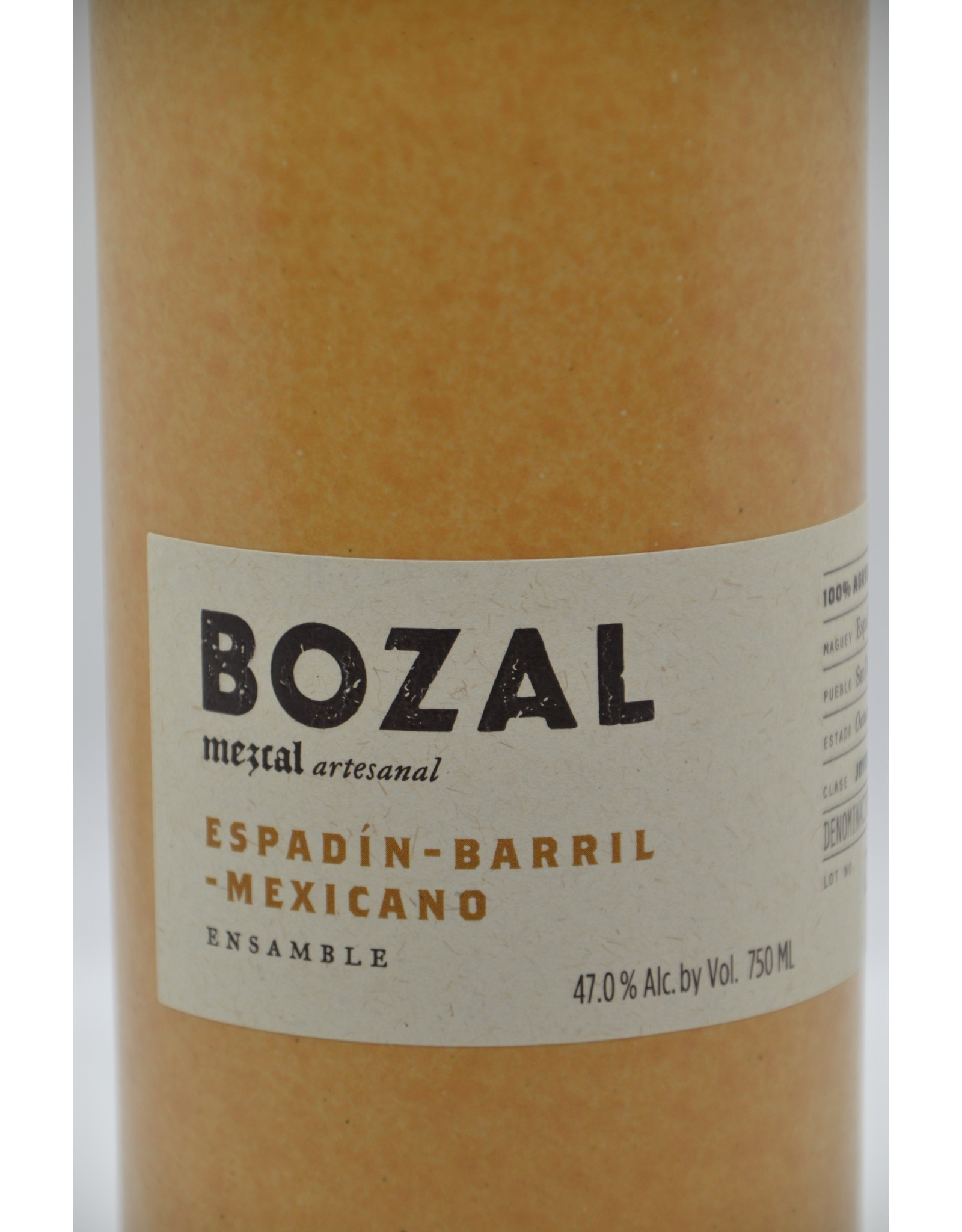 Mexico Bozal Mezcal