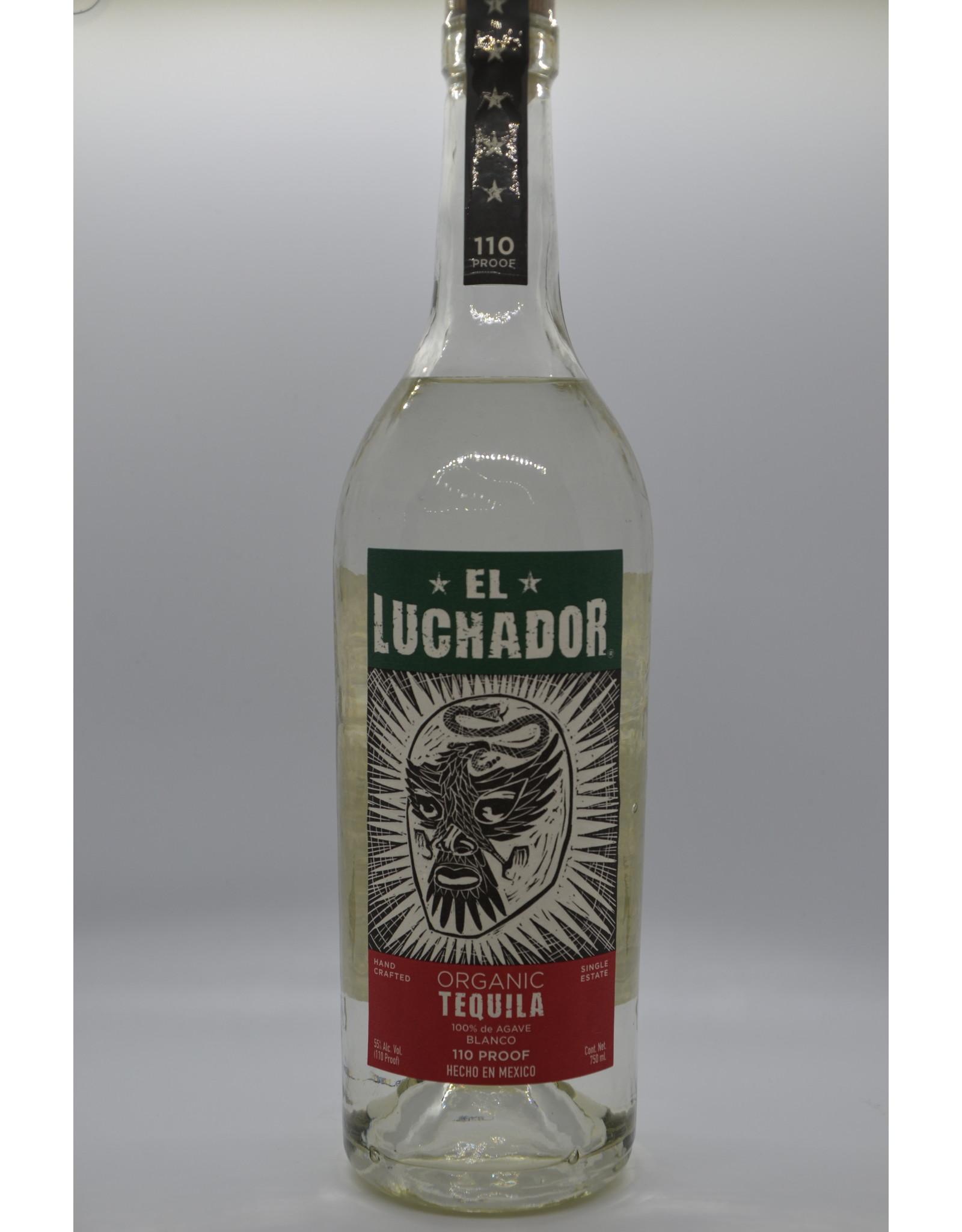 Mexico El Luchador Tequila Blanco
