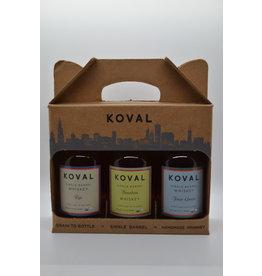 USA Koval Whiskey Gift Set