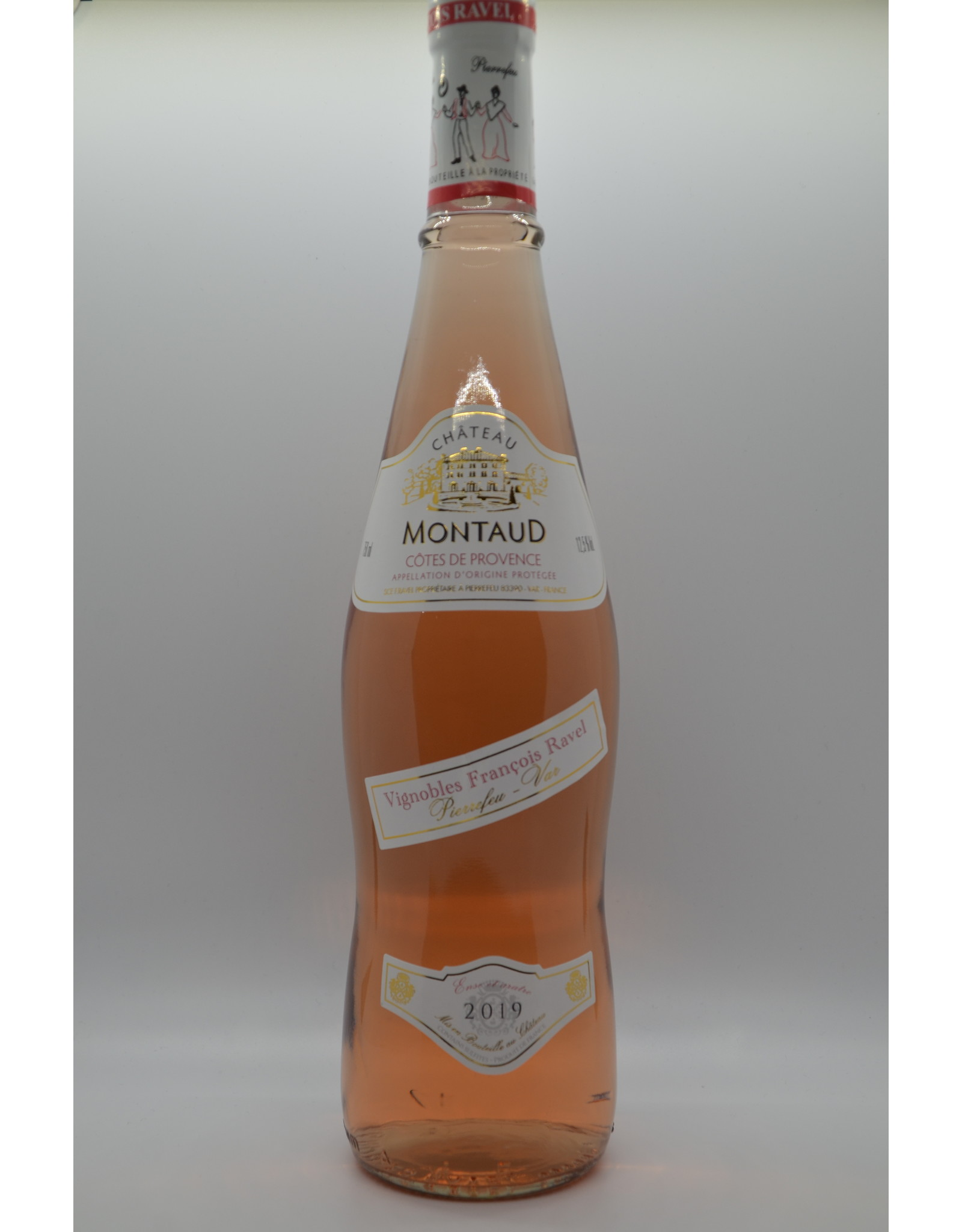 France Chateau Montaud Cotes de Provence Rose