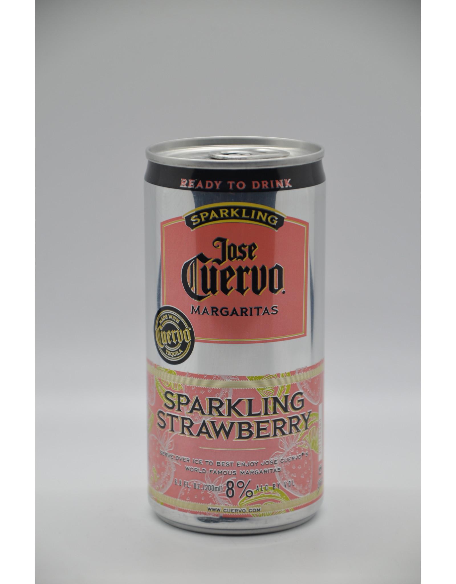 Mexico Jose Cuervo Sparkling Strawberry Margarita 200ml