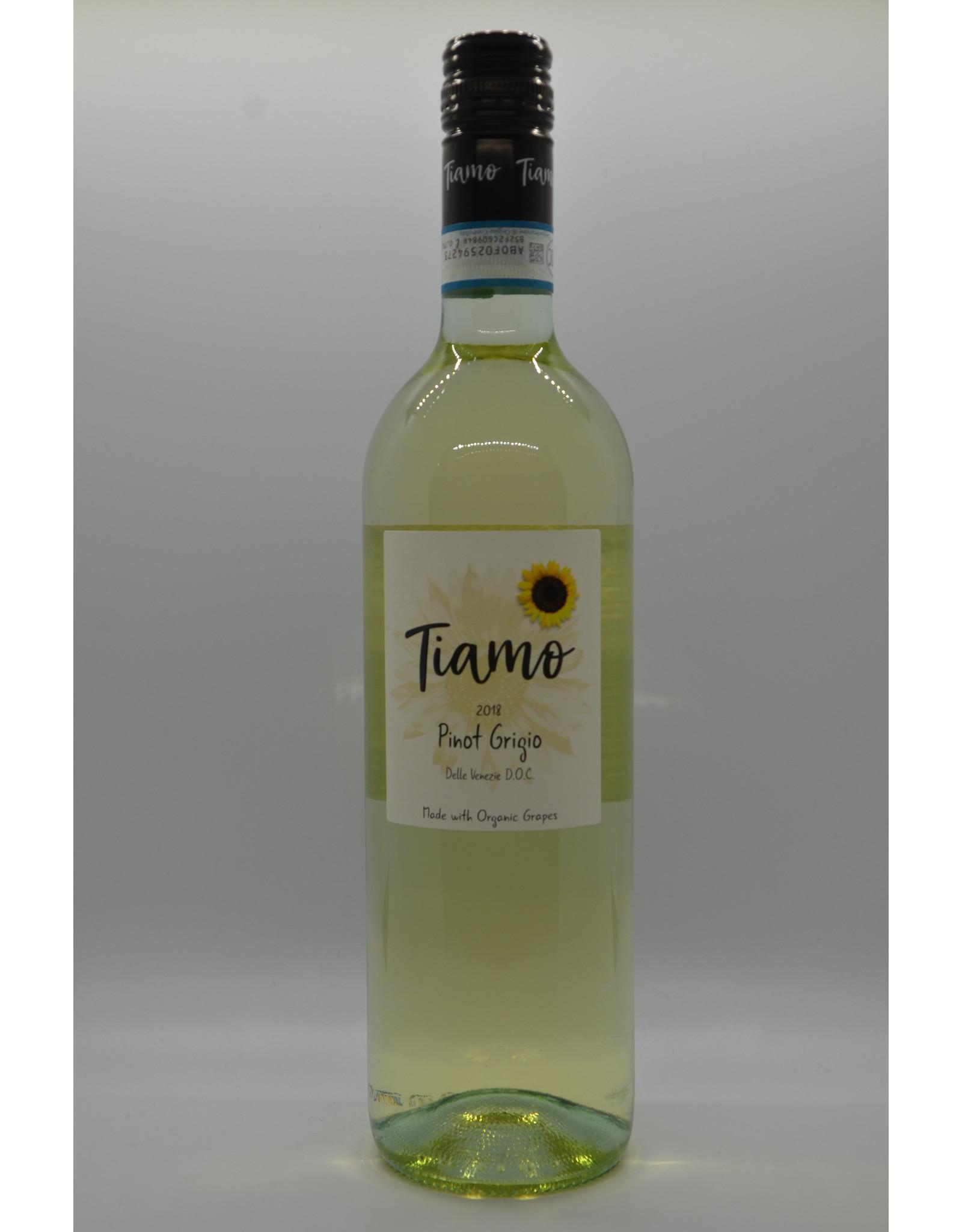 Italy Tiamo Organic Pinot Grigio