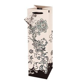 USA Floral Chic Wine Bag