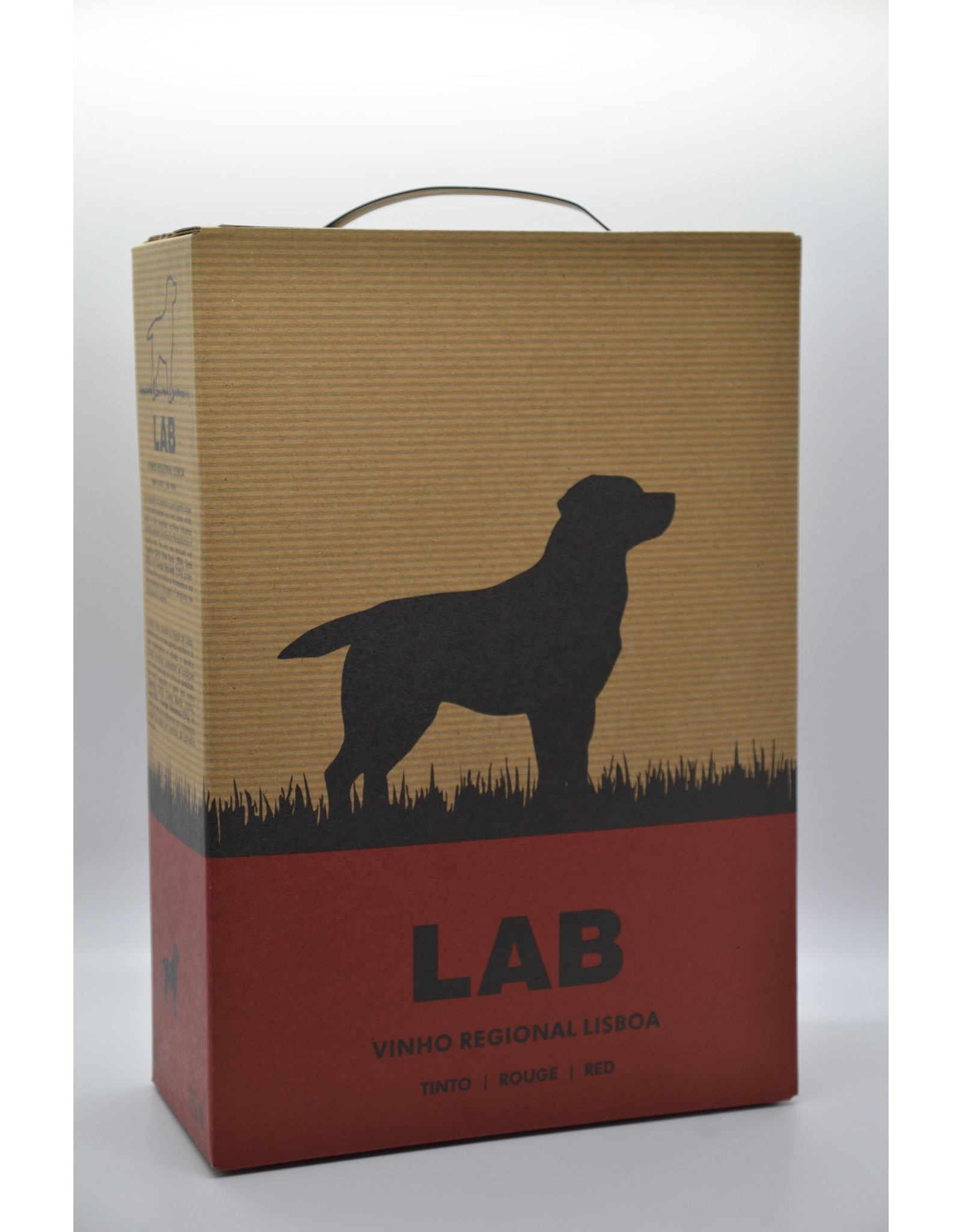 Portugal Lab red Box 3L