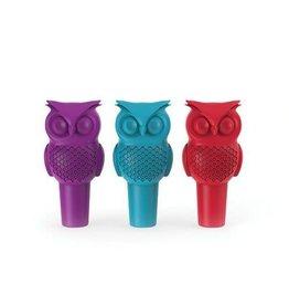 USA Hoot Owl Bottle Stopper