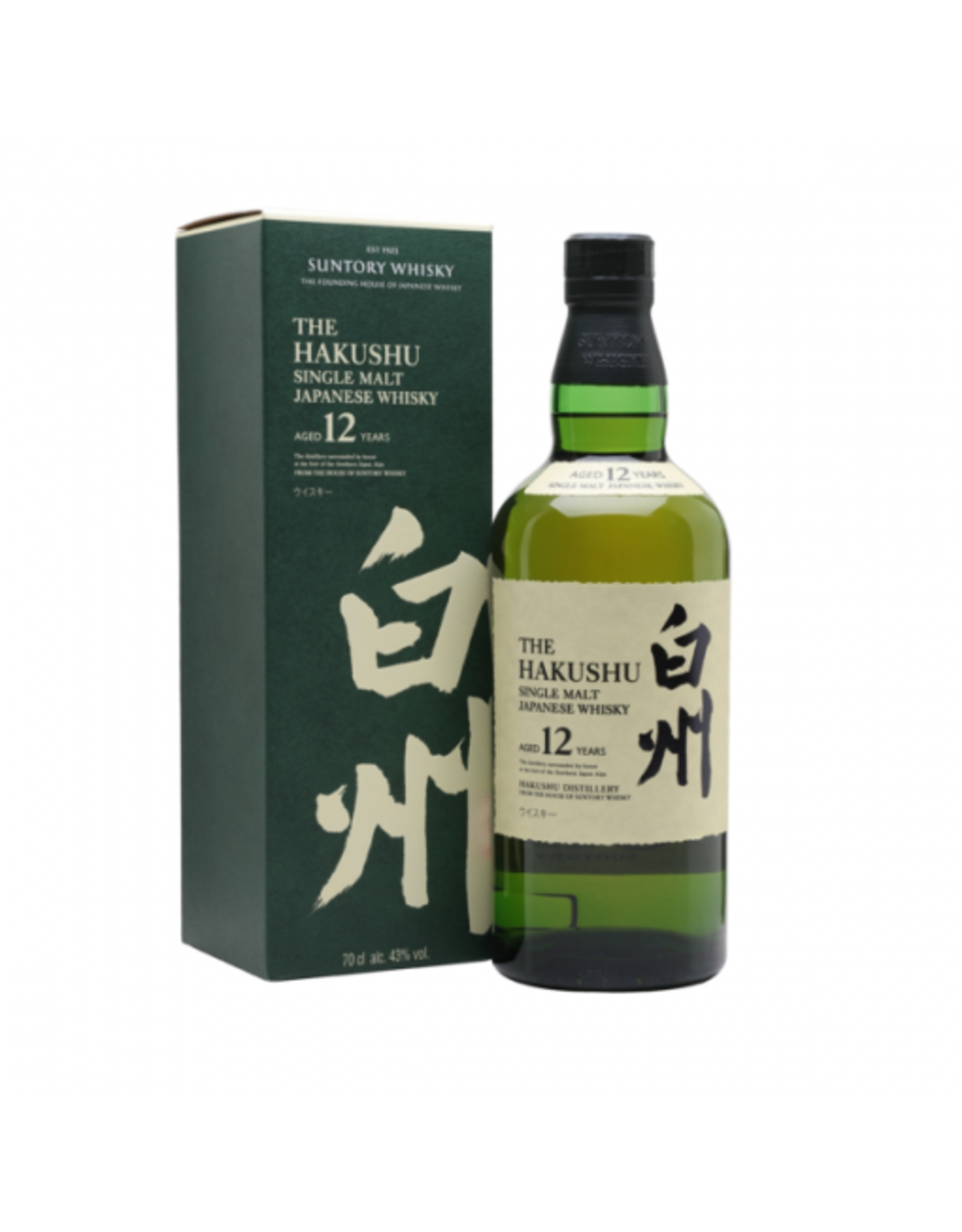 Japan The Hakushu single malt 12yrs