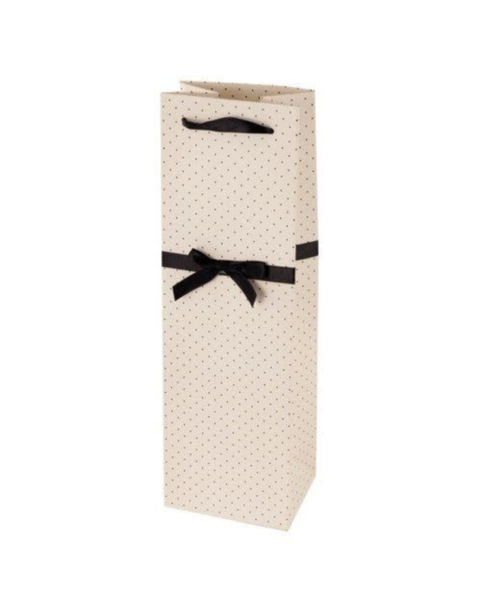 White w/ Black Dots Gift Bag