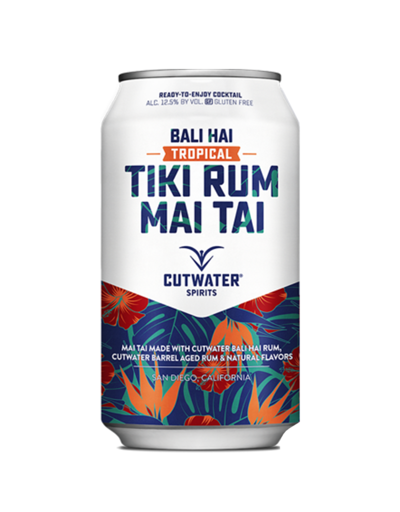 USA Cutwater Tiki Rum Mai Tai Bali 355ml