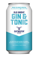 USA Cutwater Gin & Tonic Old Grove 355ml