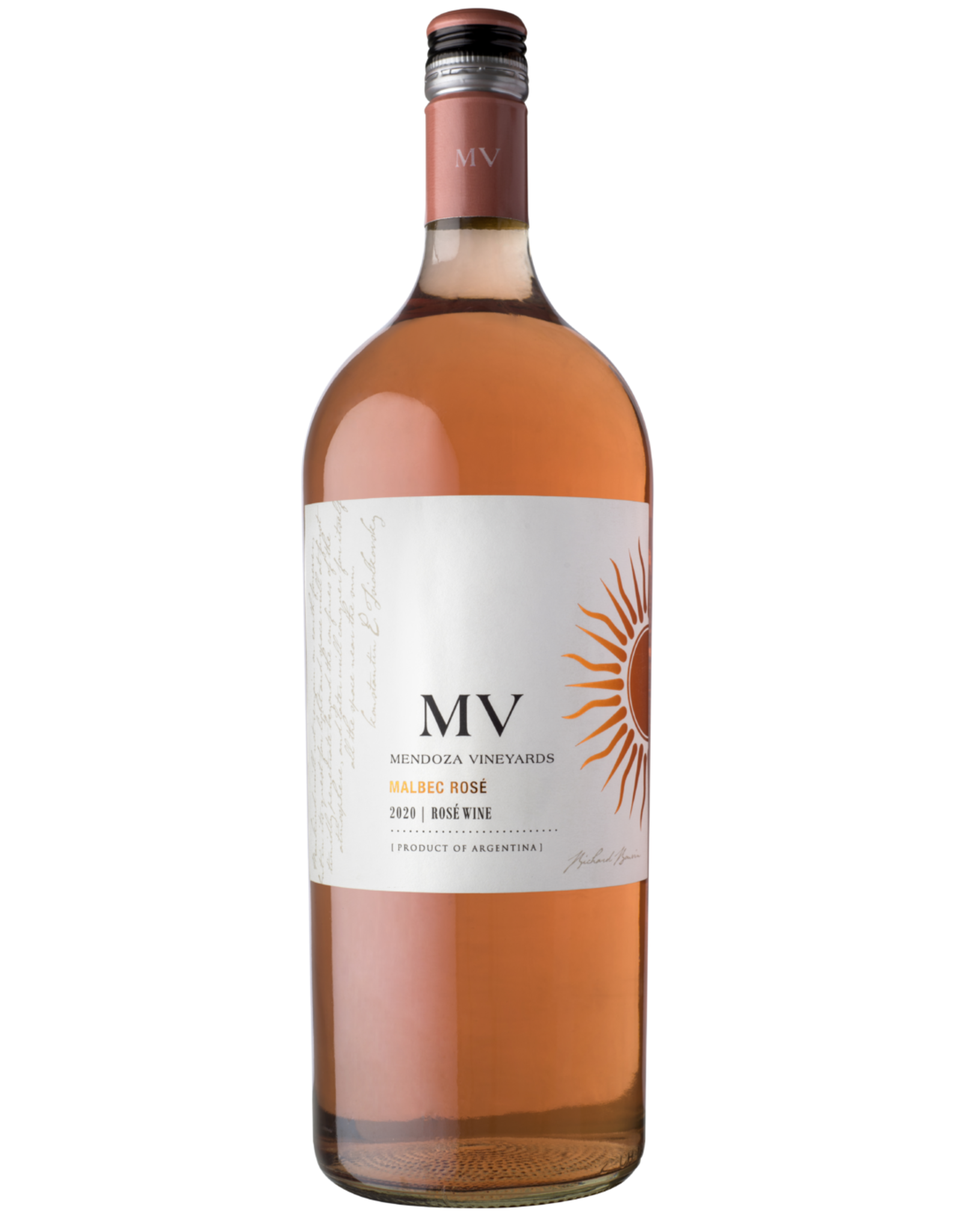 Argentina Mendoza Vineyards Malbec Rosé 1.5L