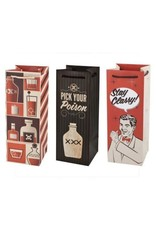 USA Assorted Retro Drinking Icon Wine Bags