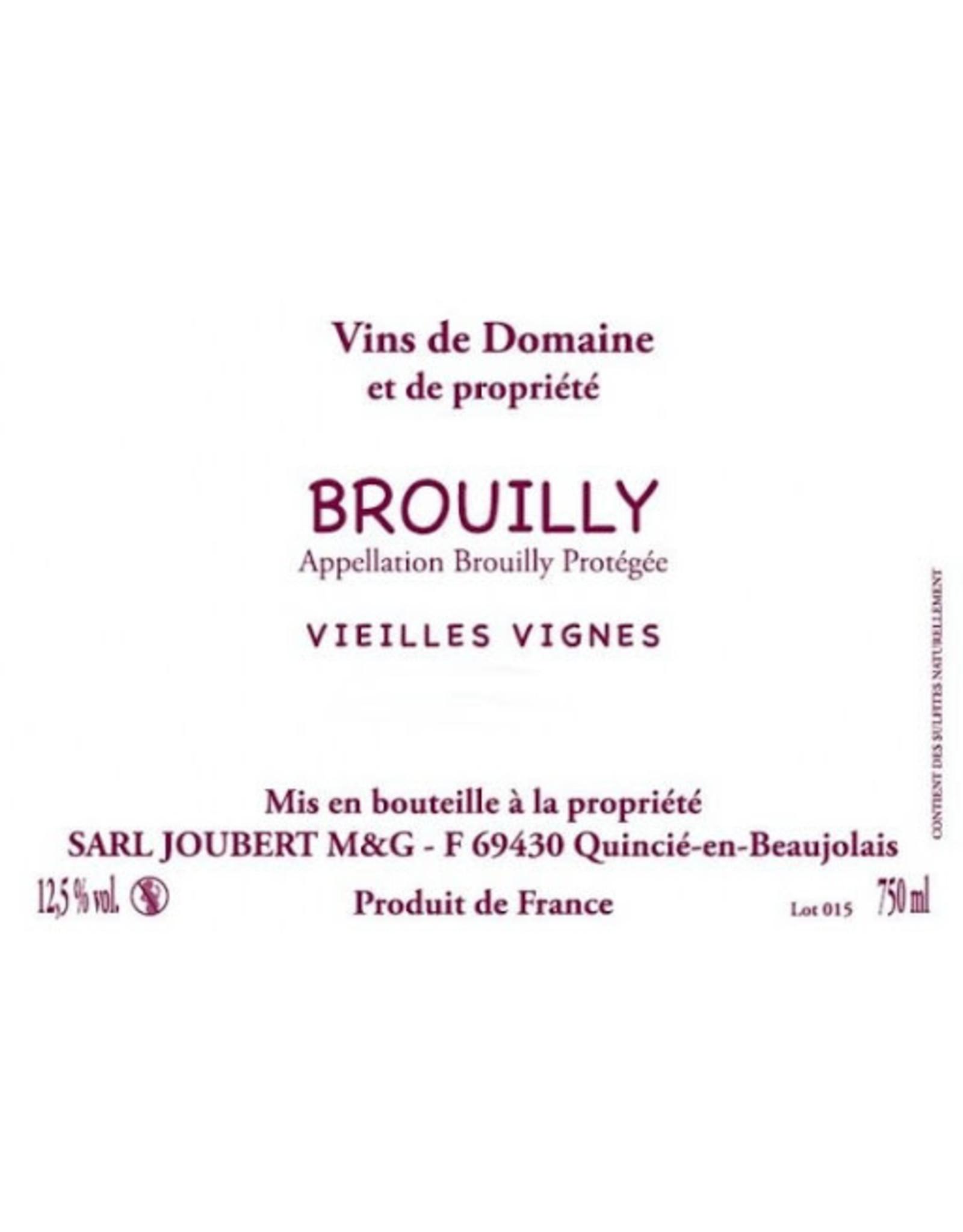 France Domaine Marcel Joubert Brouilly Vieilles Vignes