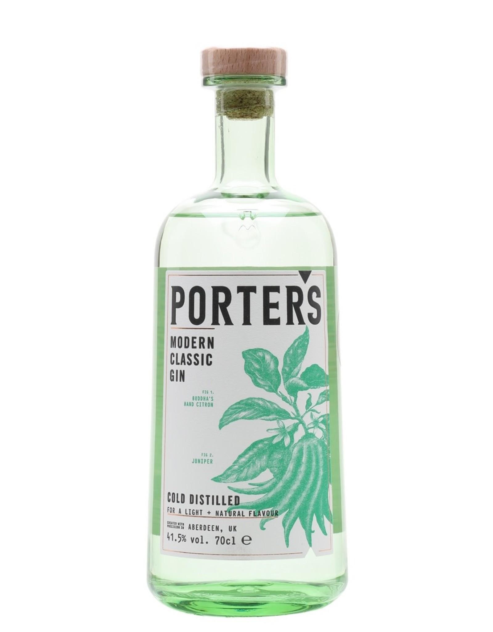 England Porter's Modern Classic Gin