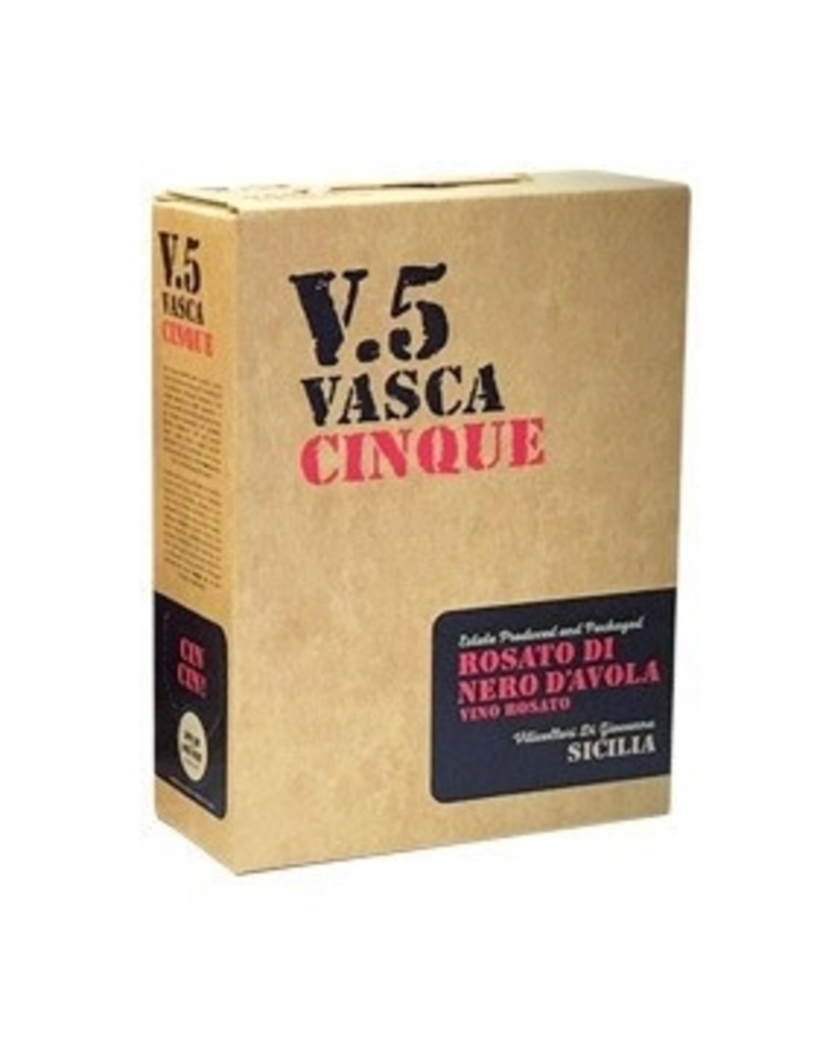Italy V.5 Vasca Cinque Nero D' Avola Rosato Box 3L
