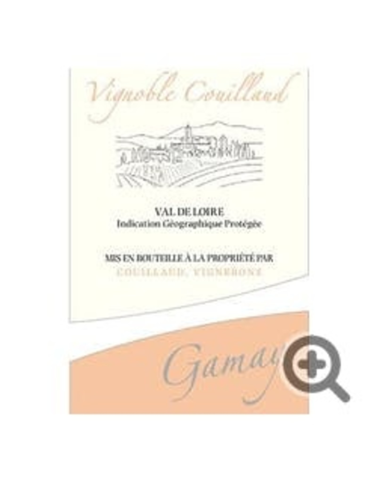 France Vignoble Couillaud Gamay Rosé