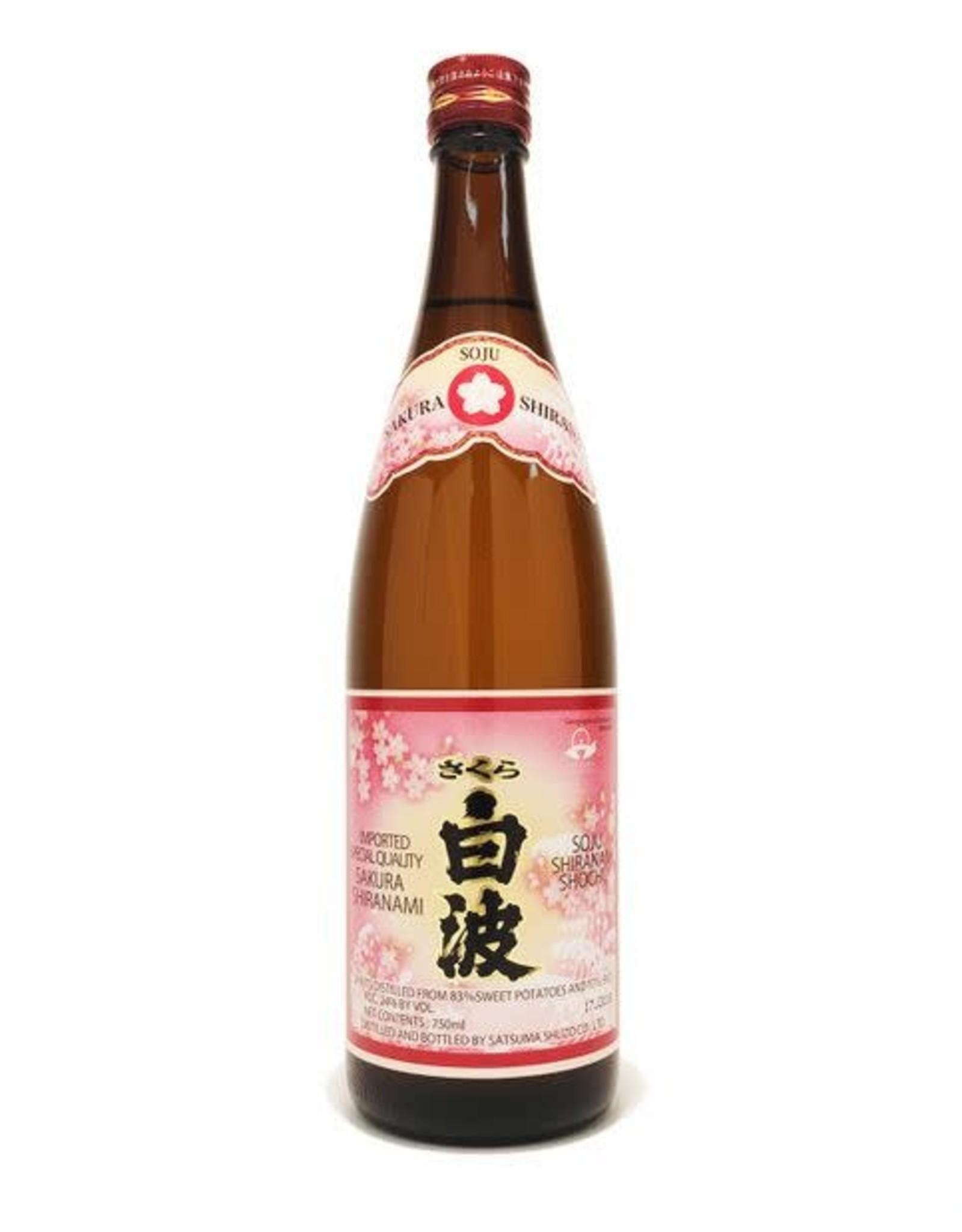 Japan Sakura Shiranami Shochu