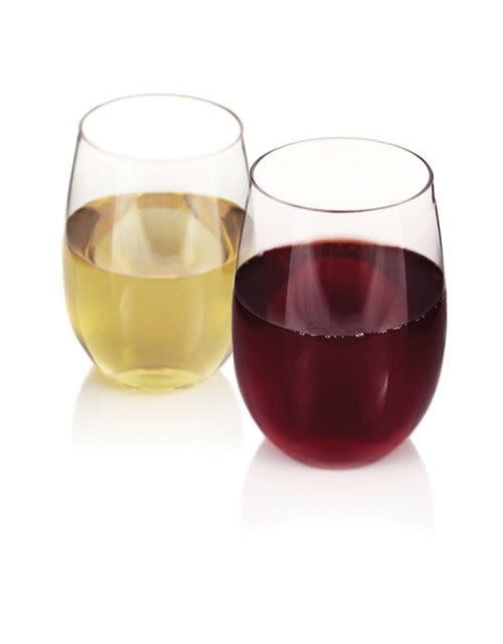 USA Flexi Stemless Wine Glass